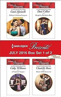 Harlequin Presents July 2016 - Box Set 1 of 2: An Anthology