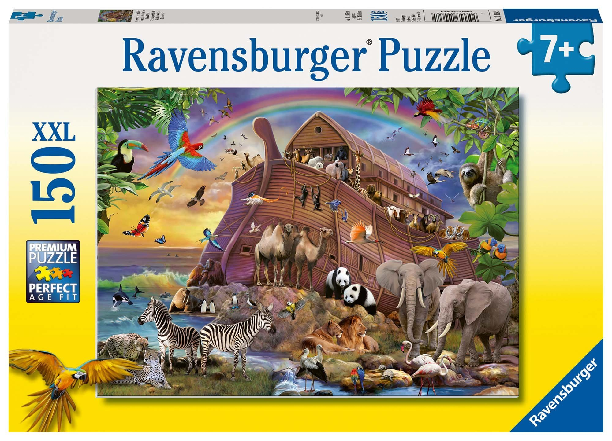 Download Ravensburger L'Arca di Noè   Puzzle 150 Pezzi