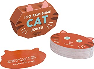 Ridley's Games 100 Paw-Some Cat Joke Cards