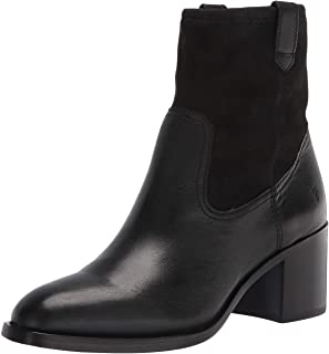 Frye Women's Monroe Stretch Bootie Ankle Boot, Black, 7