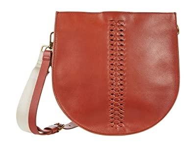 Madewell The Transport Saddle Bag: Whipstitch Edition