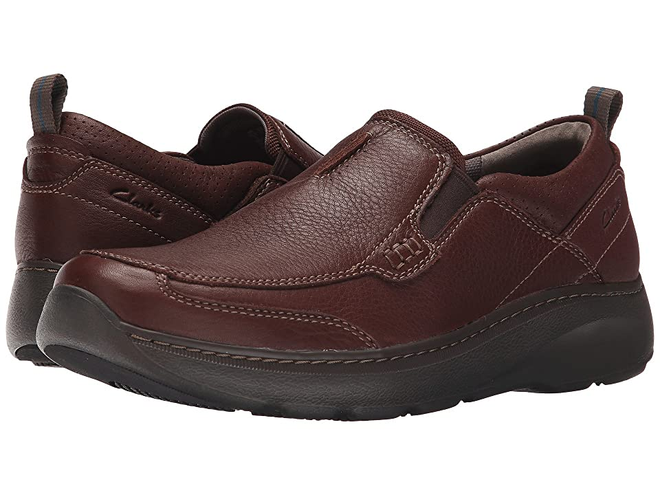 Clarks Charton Step (Brown Leather) Men