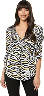 Sass Women's Savannah Nights Blouse