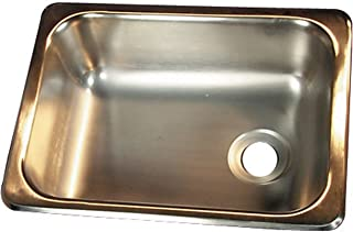 Heng's SSS-1315-5-22 Stainless Steel Single Sink