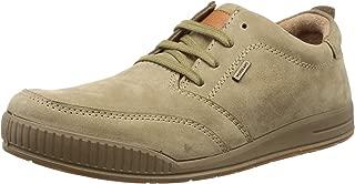 Woodland Men's OGC 1668115_Khaki Leather Boat Shoes-8 UK (42 EU) (9 US) 1668115KHAKI