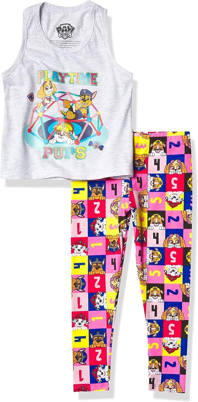 Paw Patrol girls Toddler Legging Set Tank Memphis Mall Max 40% OFF Girls