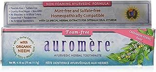 オーロメア ハーバル歯磨き バルサラ ノンフォーミング