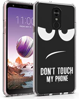 LG Stylo 4 Case, Stylus 4 Case, Ailiber Black Smile Face Private Property Slim Fit Anti Scratch Shock Proof Lightweight Soft TPU Protector Cover for LG Stylo4 Stylus4 6.2inch - Don't Touch My Phone