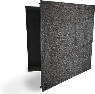 GlassArtist 41699718 Boîte à clés avec façade en Verre magnétique 30 x 30 cm