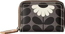 Orla Kiely - Wild Daisy Print Small Zip Wallet