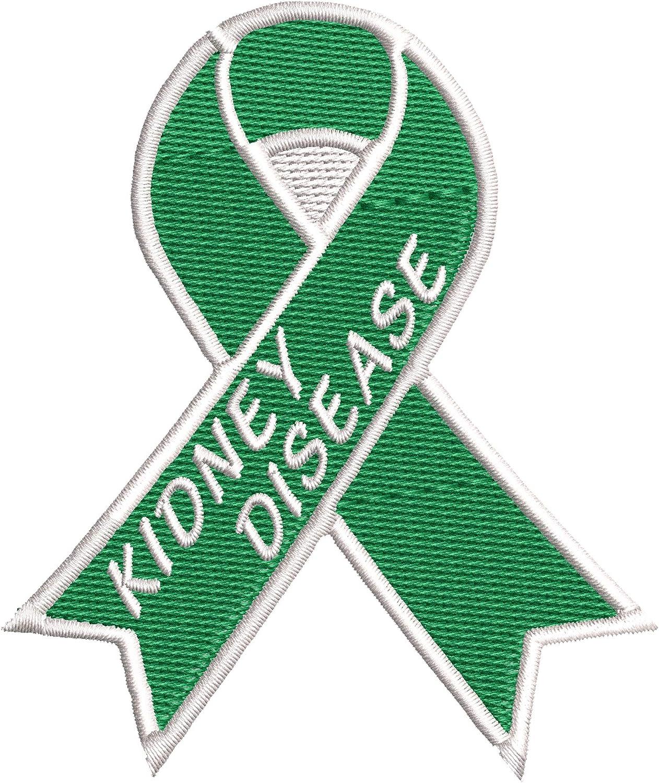 Kidney Disease 5 popular Green Awareness Ribbon 5 popular Series DI 3.5