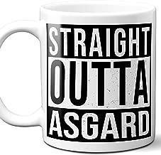 Straight Outta Asgard Gift Mug. 11 ounces.