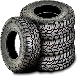 Set of 4 (FOUR) Crosswind M/T Mud-Terrain Radial Tires-30X9.50R15LT 104Q LRC 6-Ply