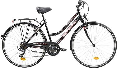 F.lli Schiano Voyager Bicicleta Trekking, Women's, Negro-