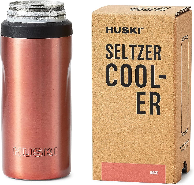 Huski Seltzer Cooler NEW Premium Trip Holder free depot Can Slim 12oz