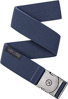 ARCADE Belt Mens Adventure Ranger Belts: Heavy Duty Elastic Webbing, Non-Metal Travel Friendly Buckle