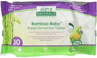 Aleva Naturals Aleva Natural Bamboo Baby Travel Wipes - 30ct, Original, 30ct, 30 count
