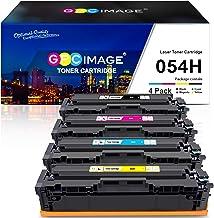 جایگزین کارتریج تونر سازگار با GPC Image برای Canon 054H Cartridge 054H CRG 054 برای استفاده با ImageClass LBP622Cdw MF644Cdw MF642Cdw MF640C LBP620 جوهر چاپگر تونر (سیاه ، فیروزه ای ، سرخابی ، زرد)
