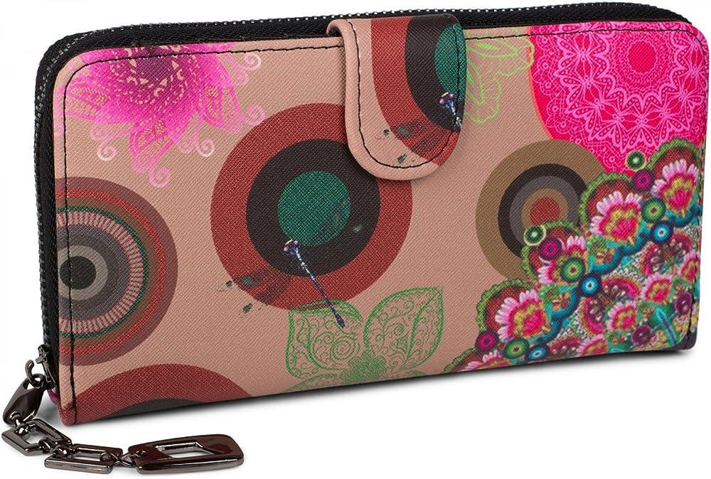 Stylebreaker portafogli porta carte di credito per donna in pelle sintetica 02040040A