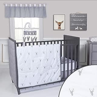 Trend Lab Stag Head 3Piece Crib Bedding Set
