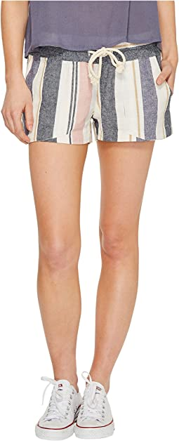Roxy - Oceanside Stripe Non-Denim Shorts