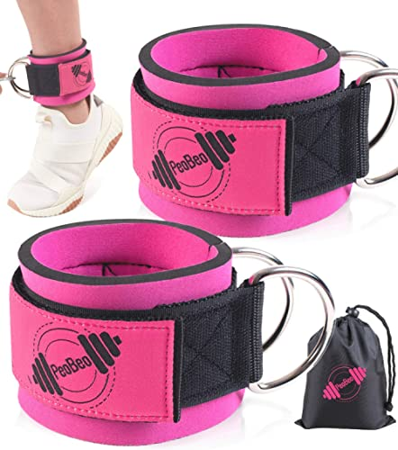 Ankle Straps for Cable Machines (Set of 2) Cable Attachments for Gym Ankle Straps Cable Straps Ankle Cuffs for Women ...