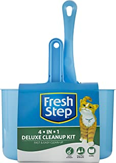 Fresh Step Cat Litter Cleanup Kits and Supplies   Kitty Litter Cleaning Supplies   Litter Box, Scoop, Trapper Keeper Mat