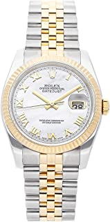 Rolex Datejust Mechanical (Automatic) Mother-of-Pearl Dial Mens Watch 116233 (Certified Pre-Owned)