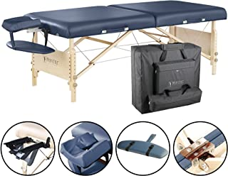 Master Massage 30 Coronado Portable Massage Table Package, Royal Blue