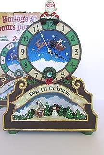 Christmas counter Christmas Countdown Clock with 24-days'til