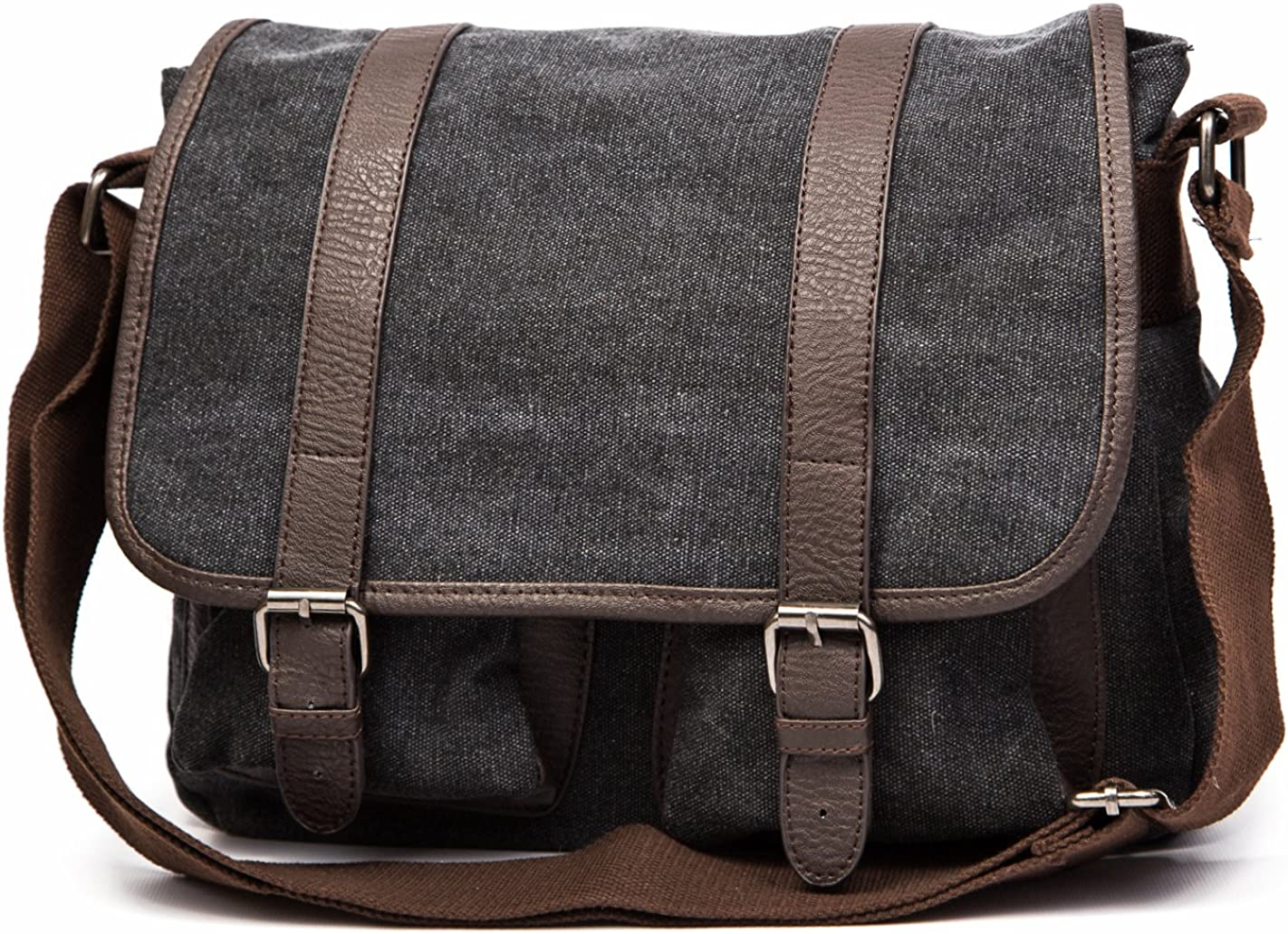 Small vintage military Classic thick Oakland Mall bag messenger shoulder canvas