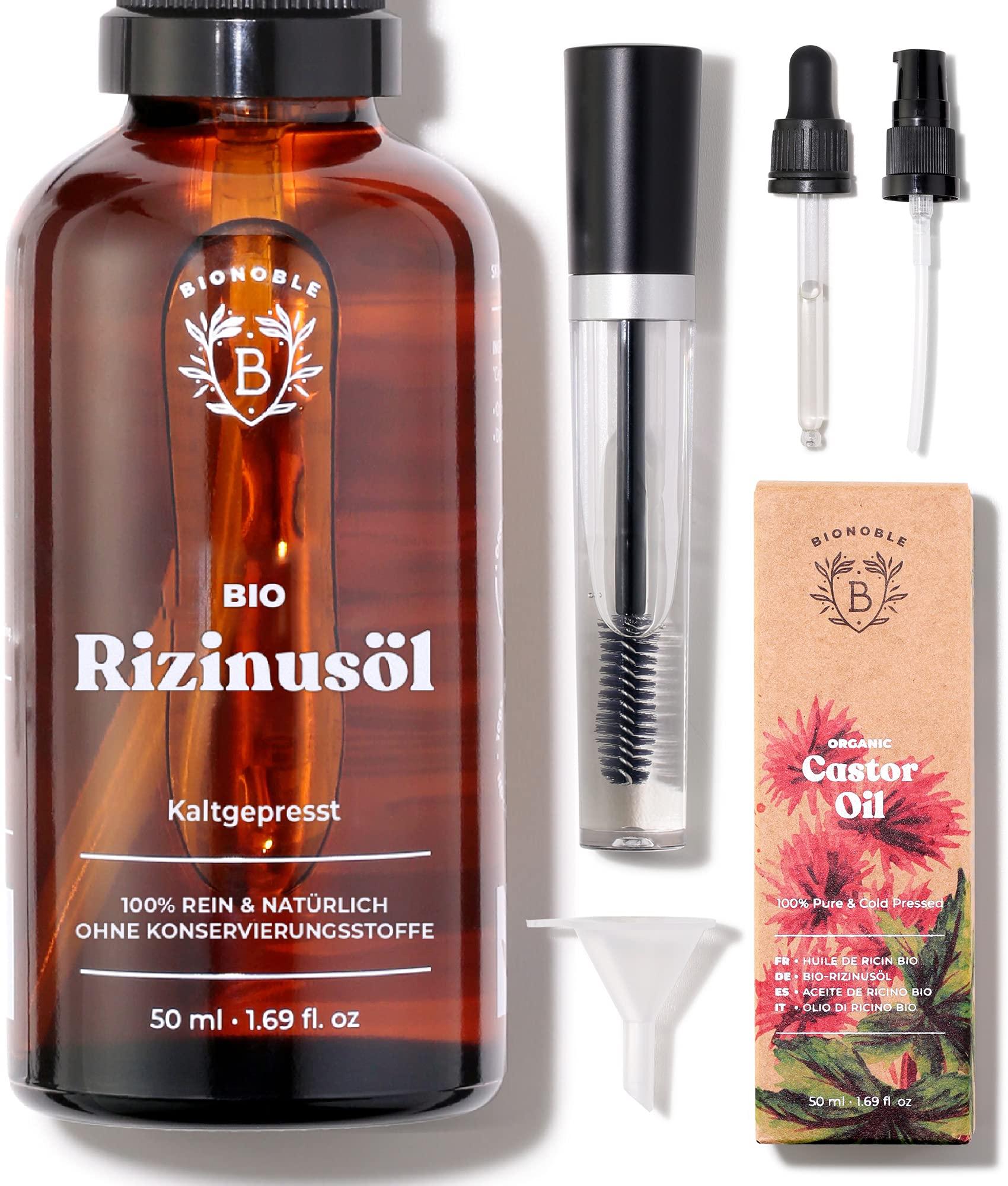 RIZINUSÖL BIO | 100% - Rezilin Haare