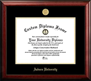 Campus Images AL992GED Auburn University Embossed Diploma Frame, 13