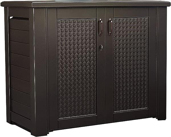 Rubbermaid Outdoor Storage Patio Series Cabinet 1889849