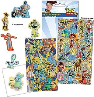 Paper Projects 9124165 Toy Story 4 zestaw naklejek, 24,5 cm x 11 cm