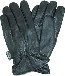 Dorfman Pacific Men's Thinsulate Genuine Lambskin Leather Gloves