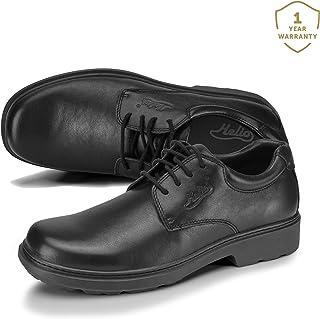 Helios Pyrios Junior Unisex Lace Up Work Uniform Office School Leather Shoes Comfy & Durable Unisex 6 Widths-G-Standard Fit