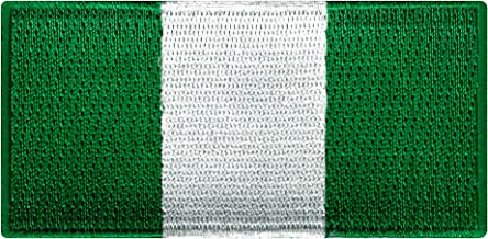 Nigeria Flag Embroidered Patch Africa Iron-On African National Emblem
