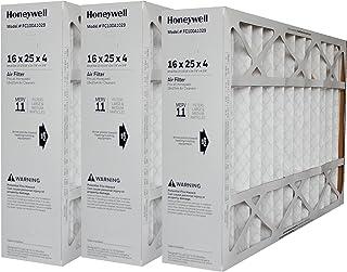 HONEYWELL Genuine 16X25 FC100A1029 MERV11 Filter 15 15/16 x 24 7/8 x 4 3/8 CASE of 3 Filters
