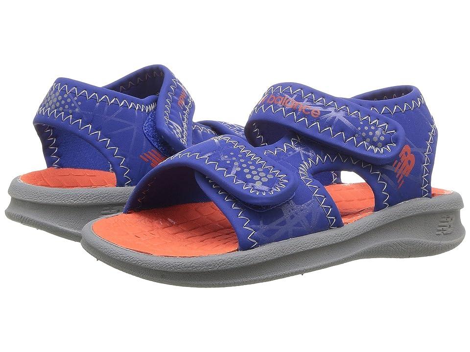 New Balance Kids Sport Sandal (Toddler/Little Kid/Big Kid) (Grey/Blue/Orange) Boys Shoes