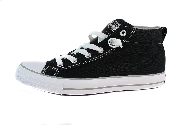 Converse Chuck Taylor Street Mid Black Phaeton Grey 135509F