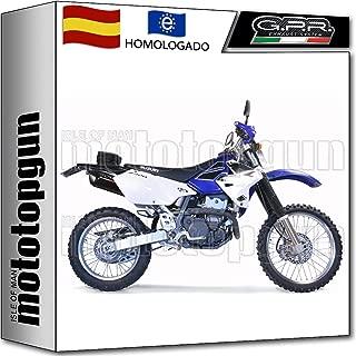 TOOGOO Cubierta Protectora del Escape Anti-Caliente Calor Roung Oval De Motocicleta para Honda Suzuki Yamaha Exc Sxf Xcw Drz Kx Klx 250-530 Negro