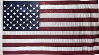 4x6 Foot U.S. American Flag Valley Forge Flag Duratex II Poly Commercial Fully Sewn