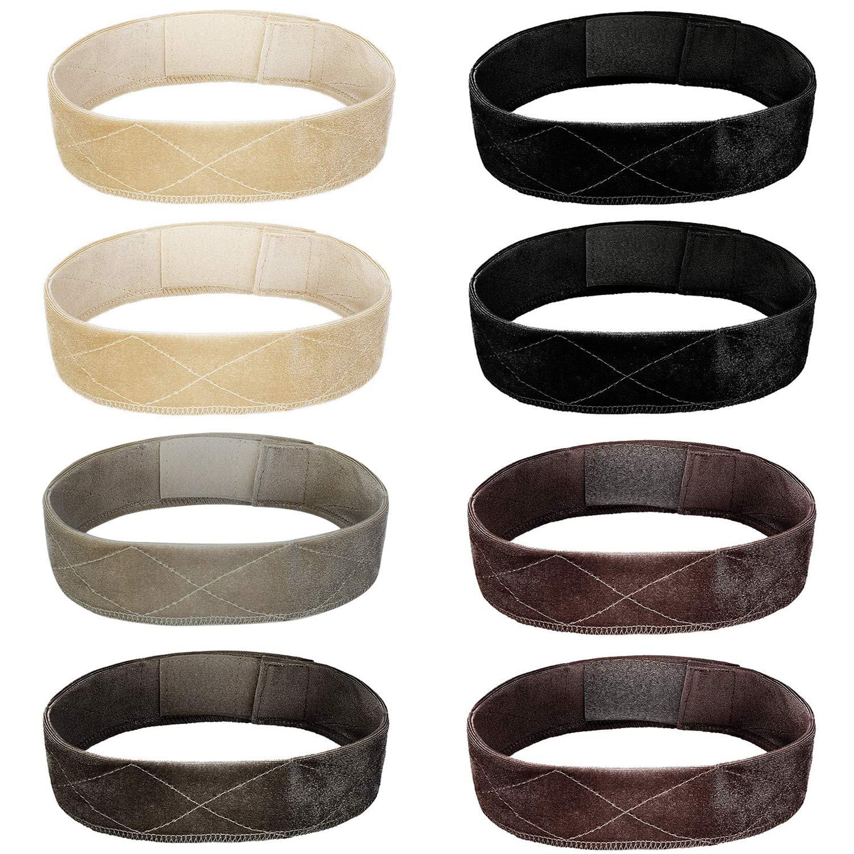 SIQUK Velvet Headband Adjustable Scarf