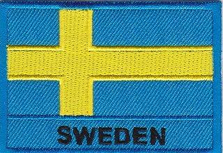 JAB Seller Tygmärke strykbräda strykjärn on patch flagga flagga länder EU Europa olika nationer (Sverige)