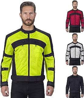 Motorcycle Jackets for Men Viking Cycle Ironside Men's Mesh Motorcycle Jacket