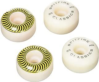 Spitfire Classic Skateboard Wheel 55mm White