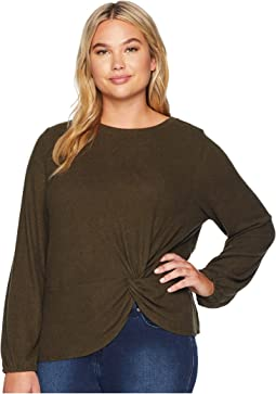 Plus Size Sierra Side Knot Tee