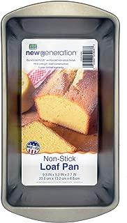 New Generation HG60NG Non-Stick Large Loaf Pan, Gray