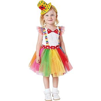 My Other Me Me-203199 Disfraz de payasita Tutu para niña, 3-4 años ...